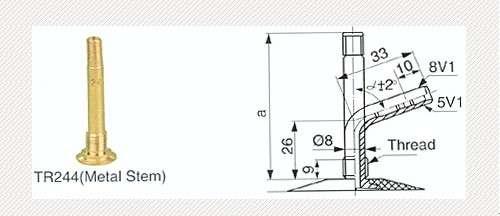 5.00-8 T-GUM TR244