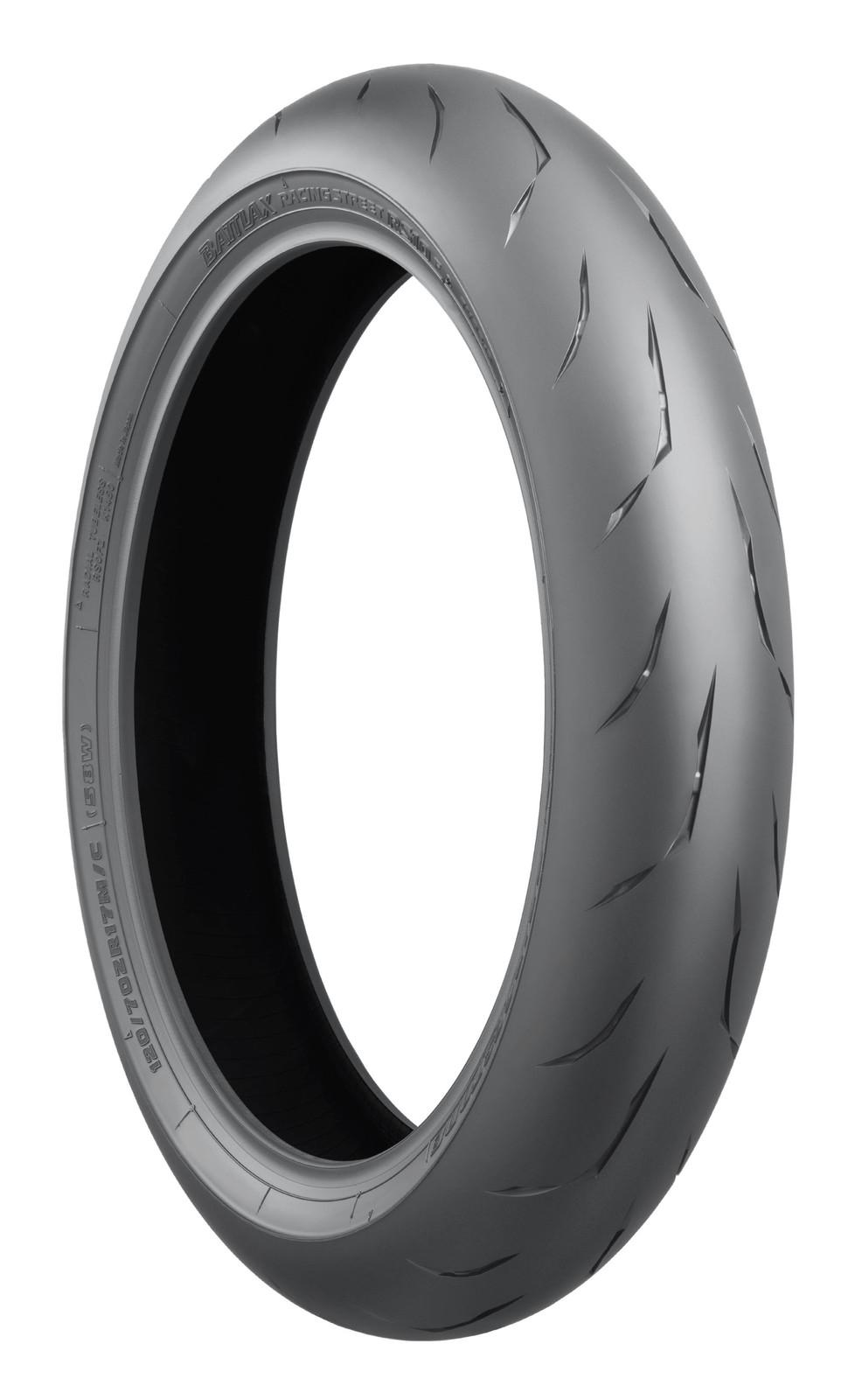120/70ZR17 Bridgestone RS10F (58W) TL CBR1000RR